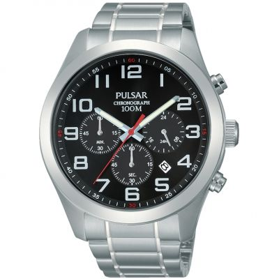 Mens Pulsar Chronograph Watch PT3661X1