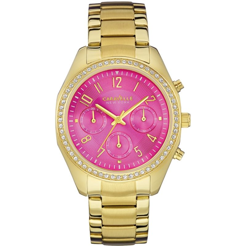 Ladies Caravelle New York Melissa Chronograph Watch 44L168