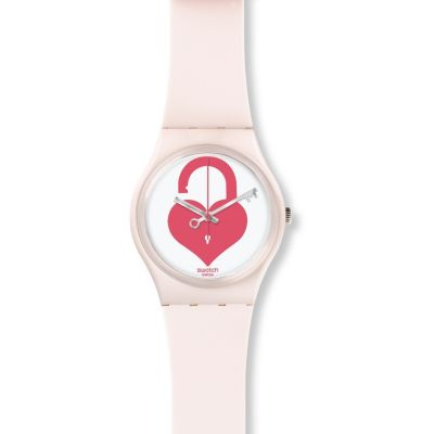 Ladies Swatch Unlock My Heart Watch GZ292