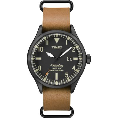 Timex The Waterbury Herenhorloge Bruin TW2P64700