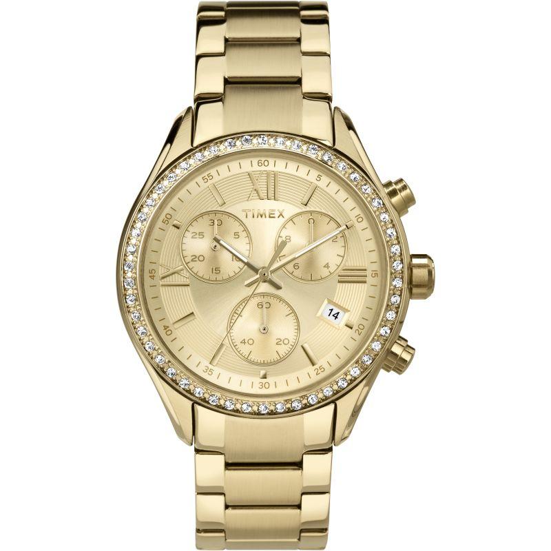 Ladies Timex City Chronograph Watch