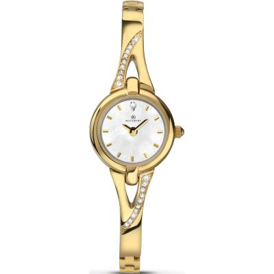 Accurist London Damklocka Guld 8039