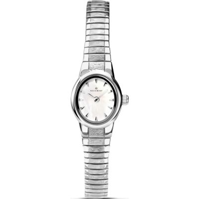 Accurist London Damklocka Silver 8051