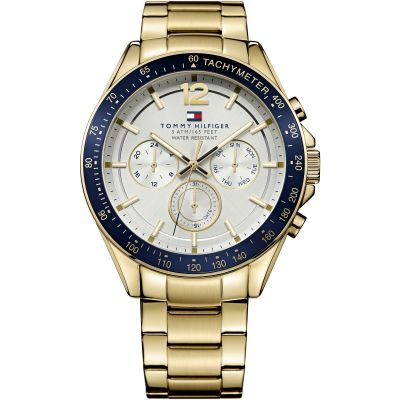 Tommy Hilfiger Luke Luke Herrenuhr in Gold 1791121