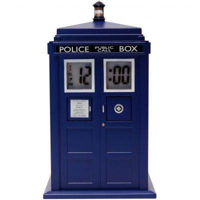Character Dr Who Tardis Projection Alarm Watch DR190