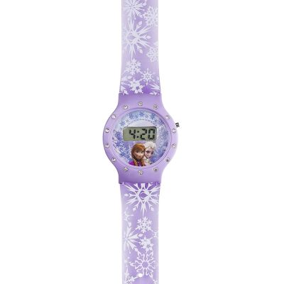 Character Frozen & Purse Set Kinderenhorloge Paars FROZ10SET