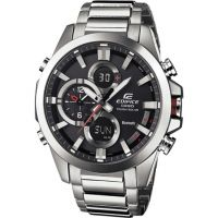 Mens Casio Edifice Bluetooth Hybrid Smartwatch Alarm Chronograph Watch ECB-500D-1AER