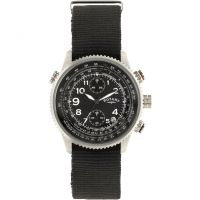 Mens Rotary Pilot Chronograph Watch