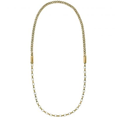 Ladies DKNY PVD Gold plated Chambers Necklace NJ2177710