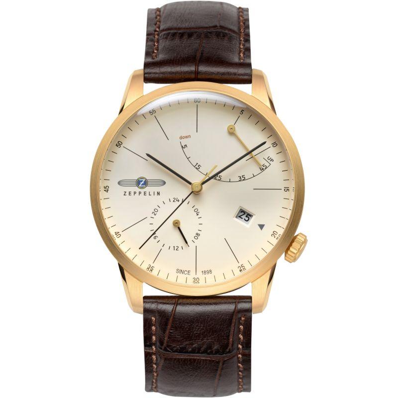 Mens Zeppelin Flatline Automatic Watch