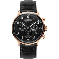 Mens Zeppelin Hindenburg Chronograph Watch