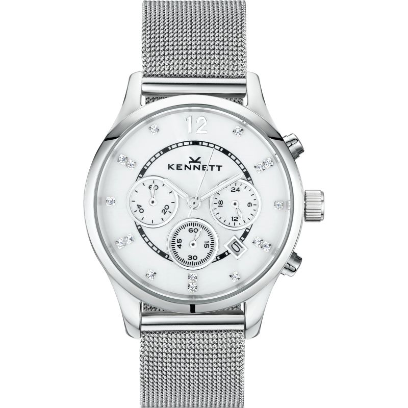 Ladies Kennett Lady Savro Milanese Chronograph Watch