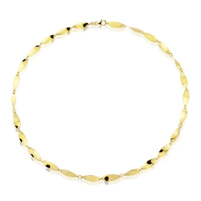 Jewellery 9ct Gold Fancy Collar 17