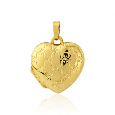Bijoux Jewellery Heart-Shaped Médaillon