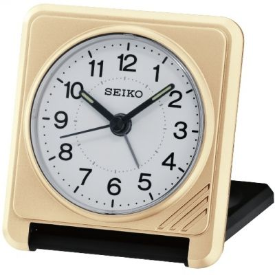Seiko Clocks Travel Alarm Clock QHT015G