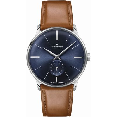 Mens Junghans Meister Handwinding Mechanical Watch 027/3504.00