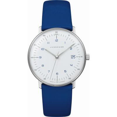 Junghans Max Bill Damenuhr in Blau 047/4540.00