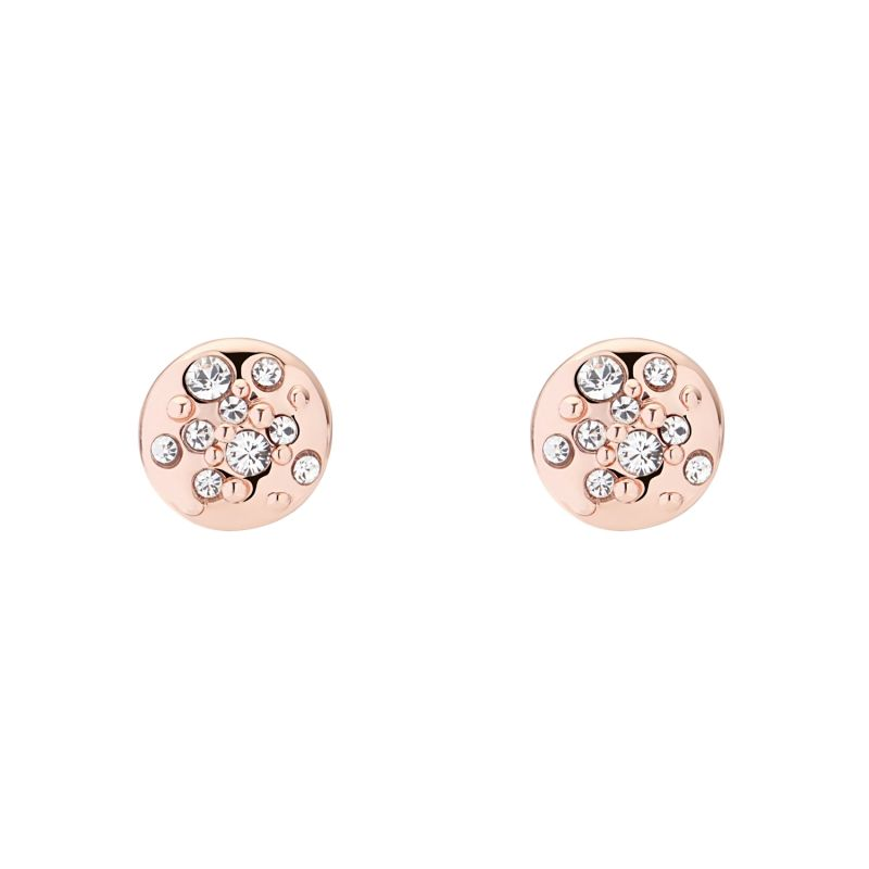 Ladies Karen Millen Crystal Sprinkle Stud Earrings KMJ562-24-02