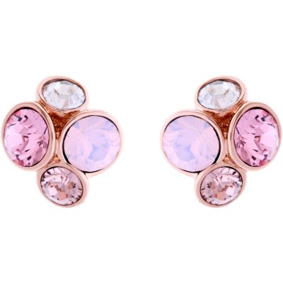 Ladies Ted Baker PVD rose plating Lynda Jewel Cluster Stud Earring TBJ496-24-16
