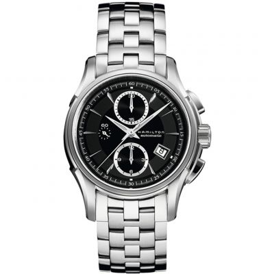 Mens Hamilton Jazzmaster Automatic Chronograph Watch H32616133