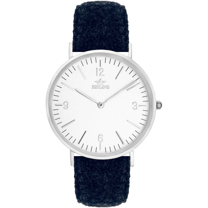 Unisex Birline Sheringham Silver Watch