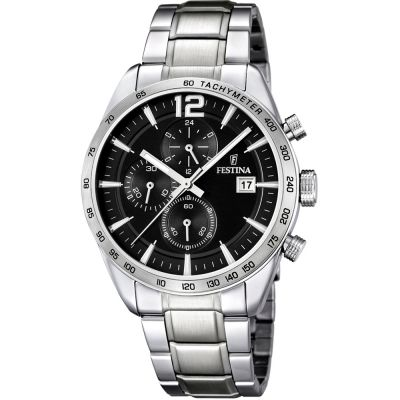 Mens Festina Chronograph Watch F16759/4
