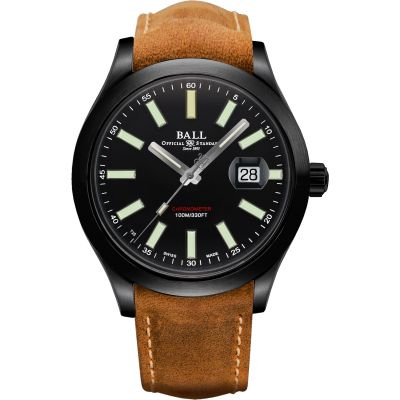 Mens Ball Engineer II Green Berets Chronometer Automatic Watch NM2028C-L4CJ-BK