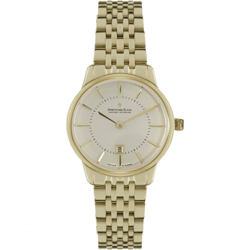 Ladies Dreyfuss Co 1980 Watch DLB00136/03