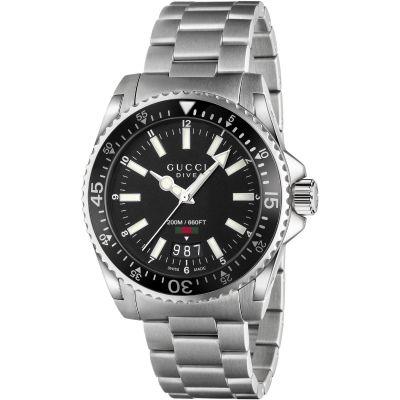 d82ea449b0d Gents Gucci Dive 40mm Watch (YA136303)
