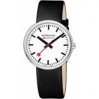 Mens Mondaine Swiss Railways Mini Giant Watch A7633036211SBB