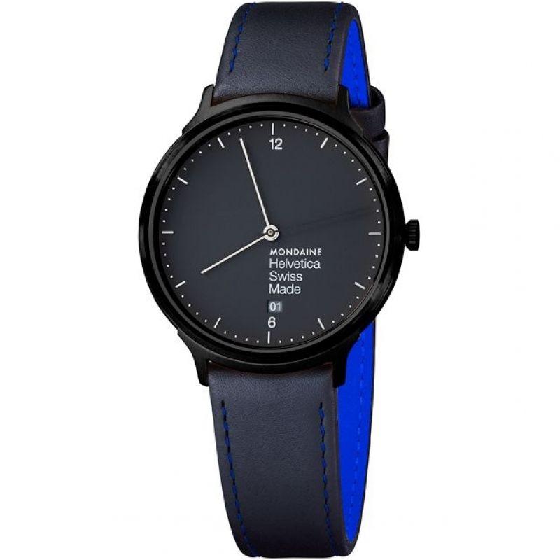 Mens Mondaine Helvetica No1 Light Watch