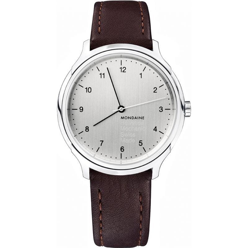 Mens Mondaine Helvetica No1 Regular Mechanical Watch