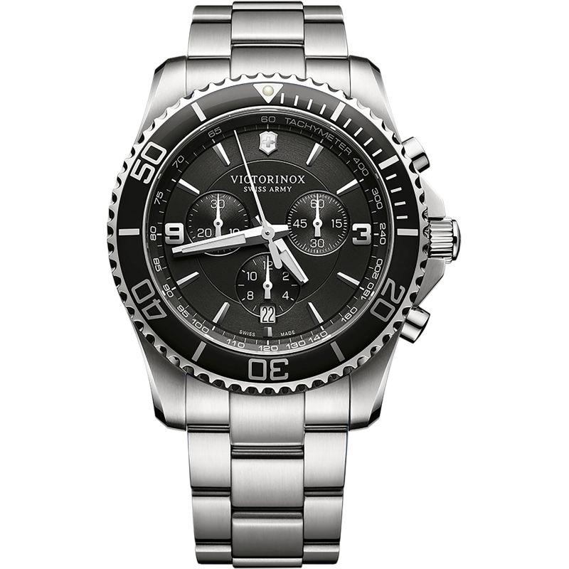 Mens Victorinox Swiss Army New Maverick Chronograph Watch