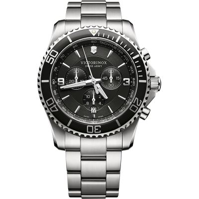 Victorinox Swiss Army New Maverick New Maverick Herrenchronograph in Silber 241695