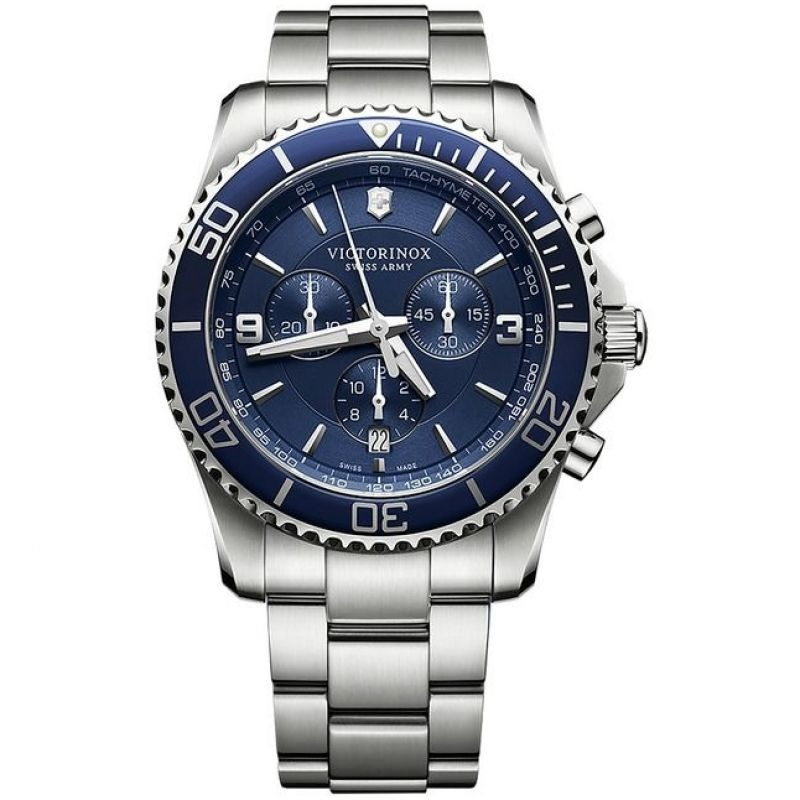 Mens Victorinox Swiss Army New Maverick Chronograph Watch 241689