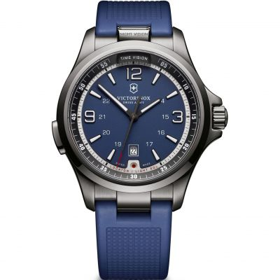 Mens Victorinox Swiss Army Night Vision Watch 241707