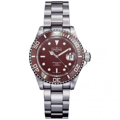 Mens Davosa Ternos Diver Automatic Watch 16155580