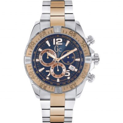 Mens Gc Sportracer Chronograph Watch Y02002G7