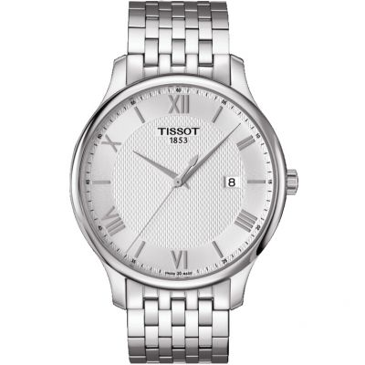 Tissot T-Classic Tradition Herrenuhr in Silber T0636101103800