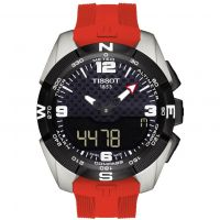 Mens Tissot T-Touch Expert Solar Titanium Alarm Chronograph Solar Powered Watch T0914204705700