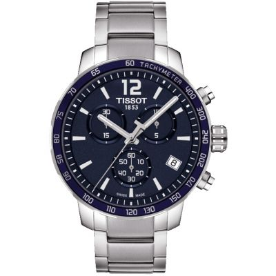 Tissot T-Sport Quickster Herrenchronograph in Silber T0954171104700