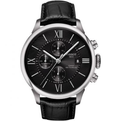 Mens Tissot Chemin Des Tourelles Automatic Chronograph Watch T0994271605800