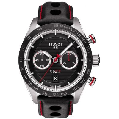 Mens Tissot PRS 516 Automatic Chronograph Watch T1004271605100