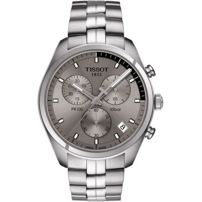 Mens Tissot PR100 Chronograph Watch T1014171107100