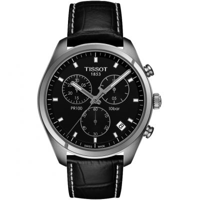 Mens Tissot PR100 Chronograph Watch T1014171605100