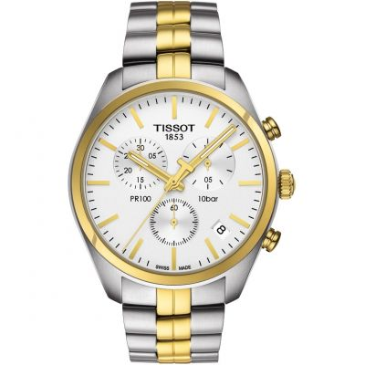 Mens Tissot PR100 Chronograph Watch T1014172203100