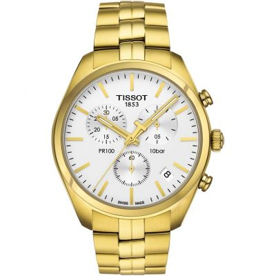 Mens Tissot PR100 Chronograph Watch T1014173303100