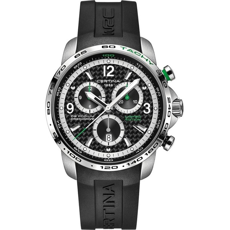 Mens Certina DS Podium Big Size Precidrive WRC Limited Edition Chronograph Watch