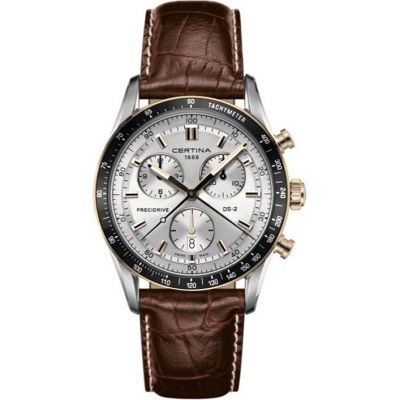 Certina DS-2 Precidrive Herrenchronograph in Braun C0244472603100
