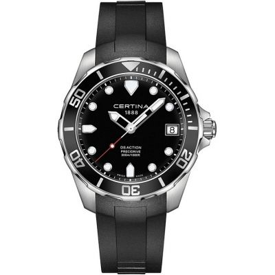 Certina DS Action Precidrive Herenhorloge Zwart C0324101705100
